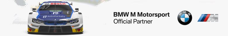 RoboMarkets is Official Partner of BMW M Motorsport